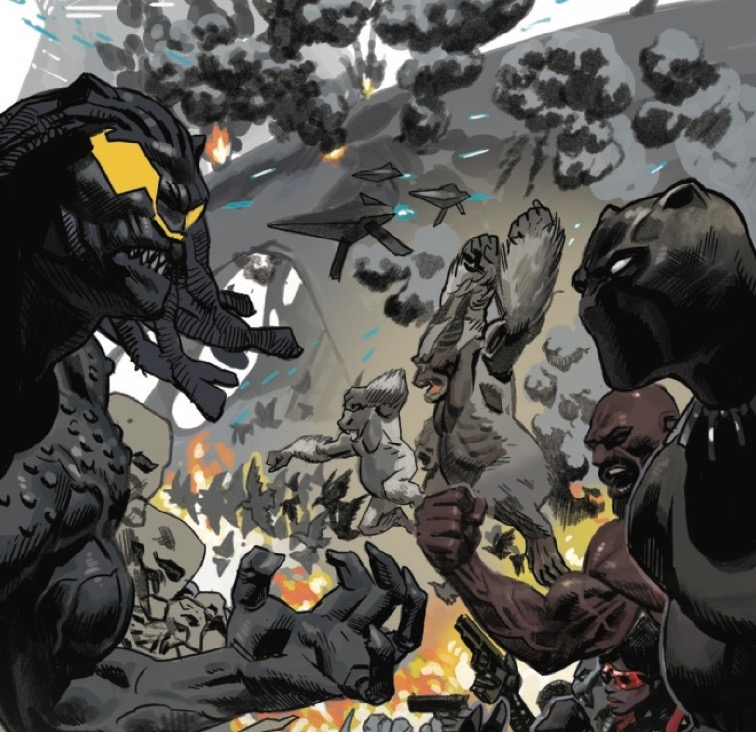 Marvel marks the end of Ta-Nehisi Coates' 'Black Panther' with new trailer