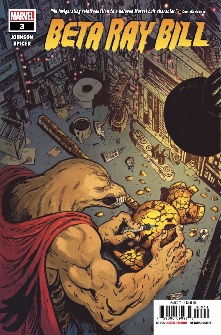 Marvel Preview: Beta Ray Bill #3