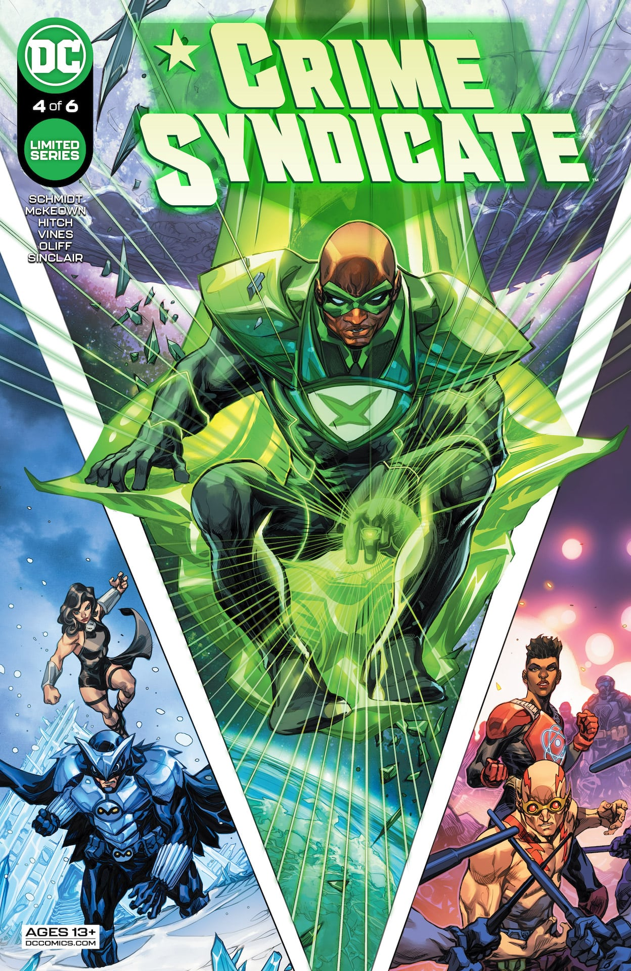 DC Preview: Crime Syndicate #4