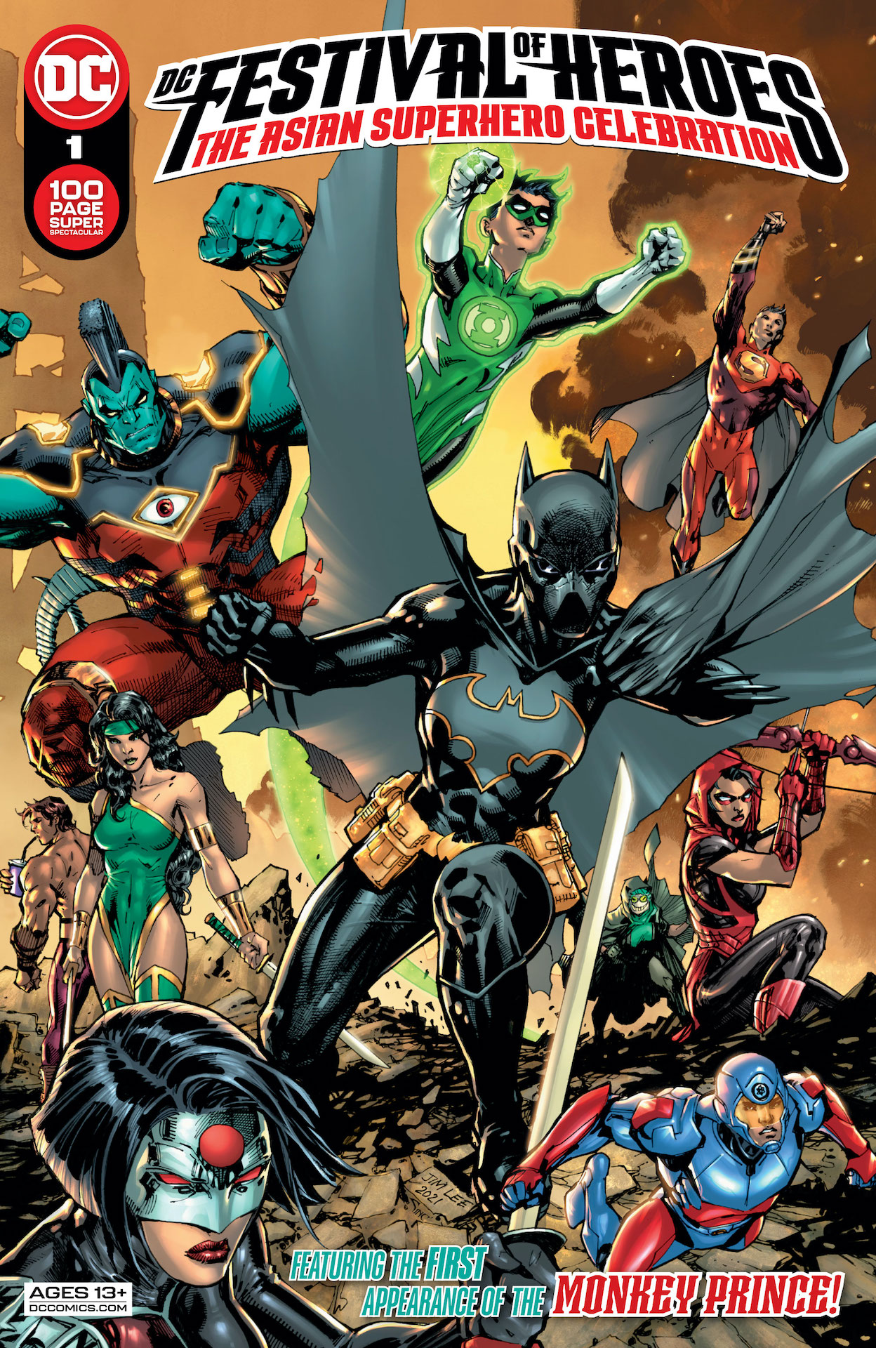 DC Preview: DC Festival of Heroes #1: The Asian Superhero Celebration