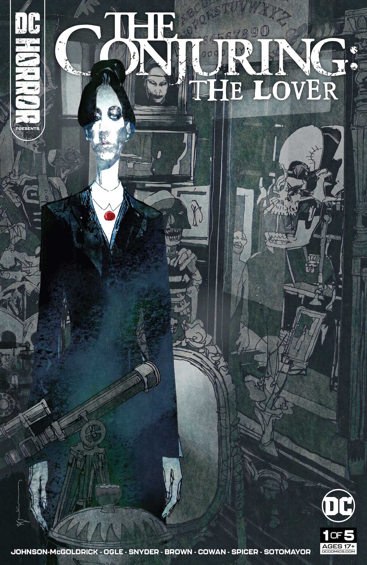 DC Preview: DC Horror Presents: The Conjuring: The Lover #1