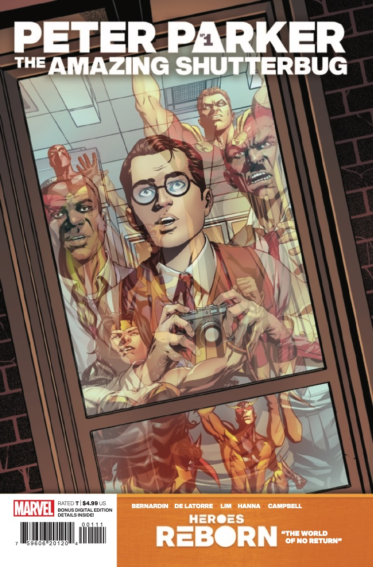 Marvel Preview: Heroes Reborn: Peter Parker, The Amazing Shutterbug #1