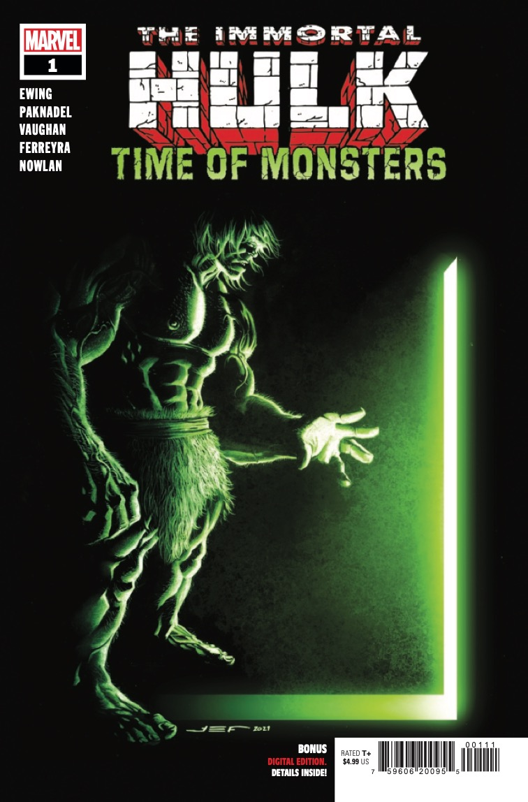 Marvel Preview: Immortal Hulk: Time Of Monsters #1