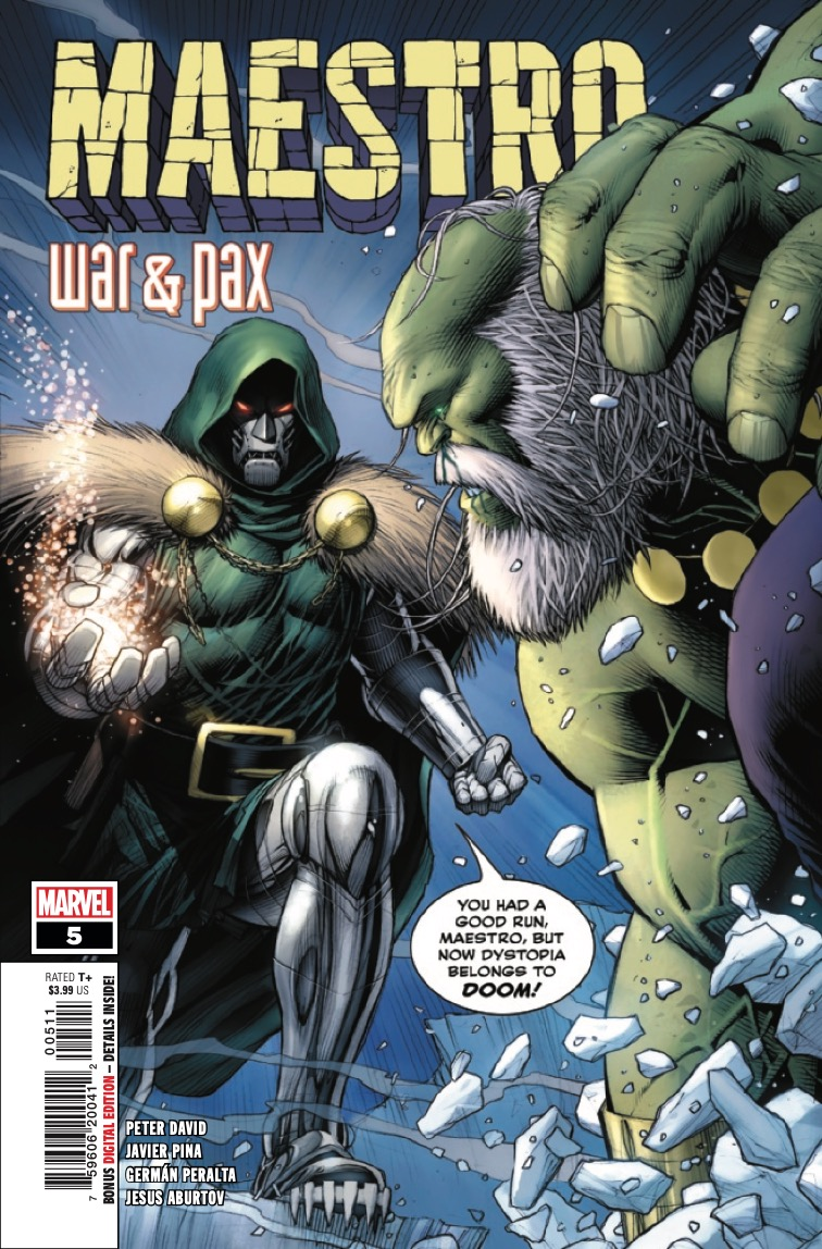 Marvel Preview: Maestro: War And Pax #5