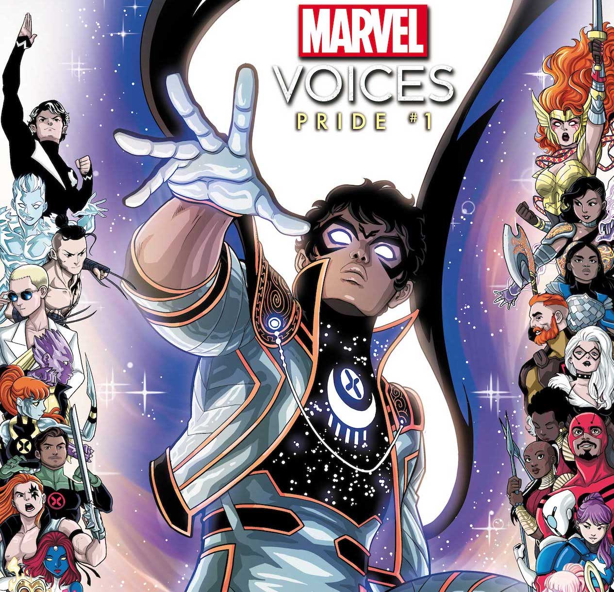 Marvel reveals new superhero and mutant Somnus to be revealed in 'Marvel's Voices: Pride' #1