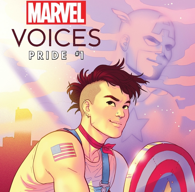 EXCLUSIVE Marvel First Look: Marvel's Voices: Pride #1 variant cover