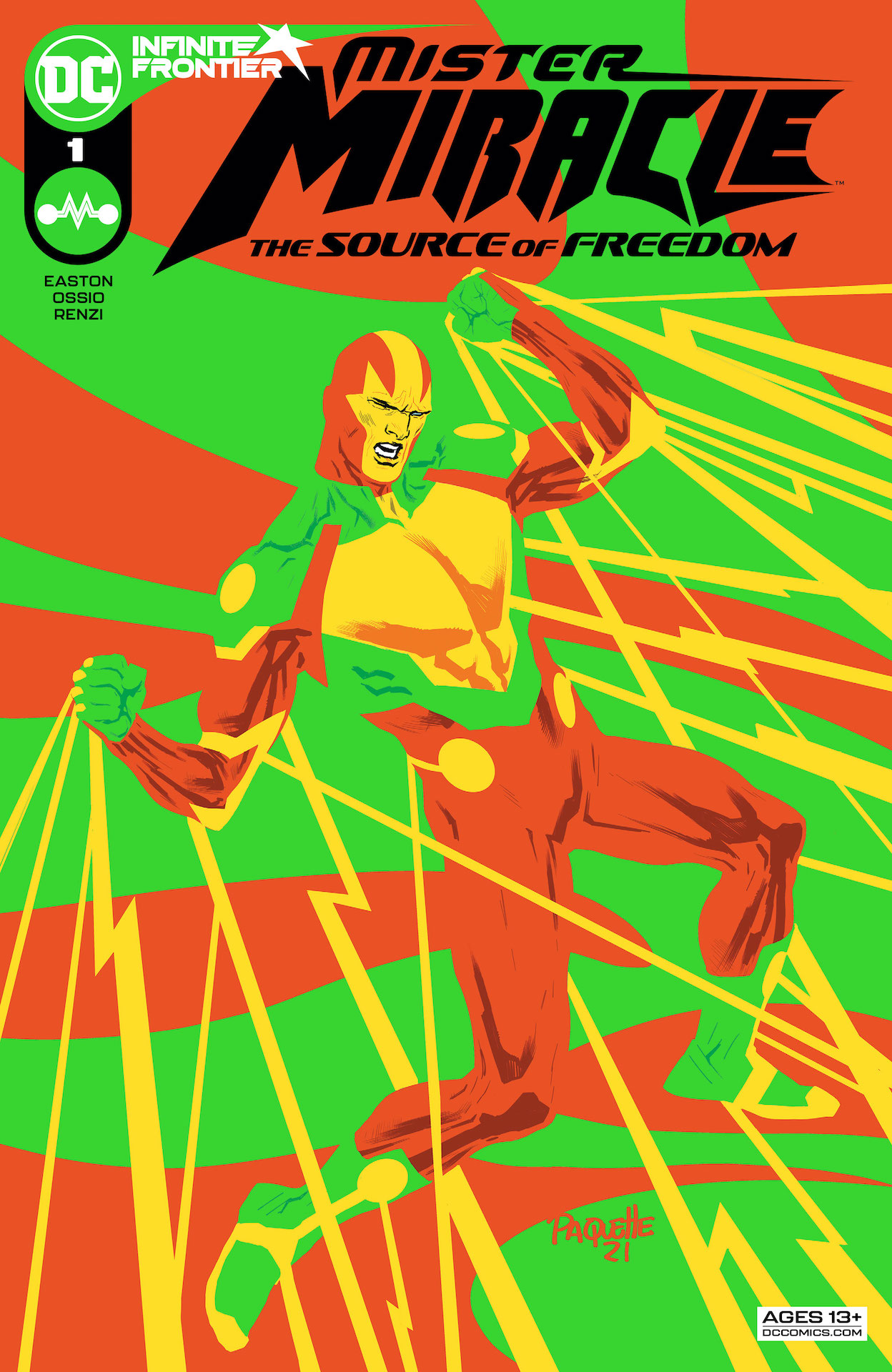 DC Preview: Mister Miracle: The Source of Freedom #1
