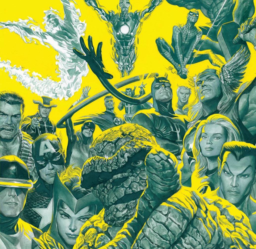 'Marvel Treasury Edition' contains some of the best art you'll see in 2021