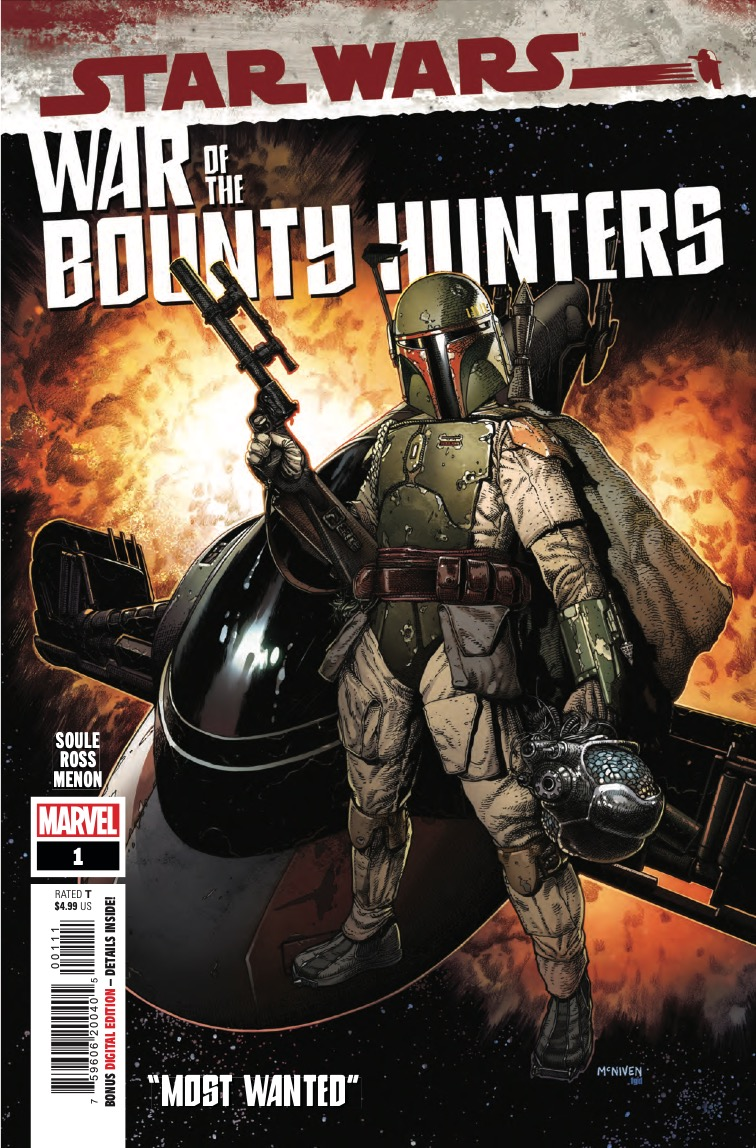 Marvel Preview: Star Wars: War Of The Bounty Hunters #1