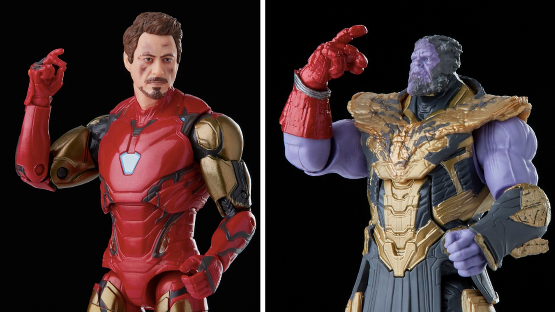 Marvel Legends: Iron Man vs. Thanos 2-pack and Odin MCU figures revealed