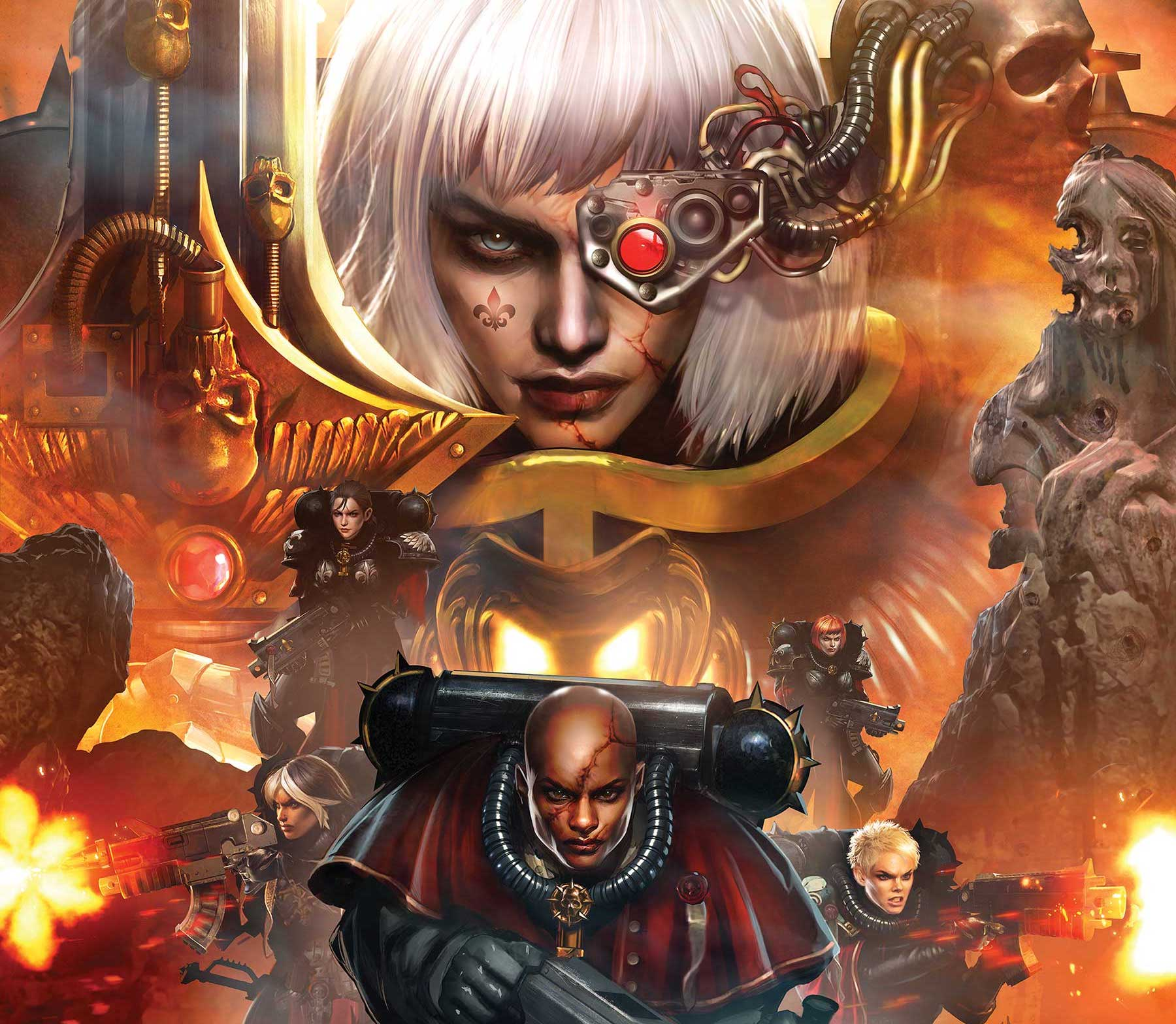 Marvel announces 'Warhammer 40,000: Sisters of Battle' #1