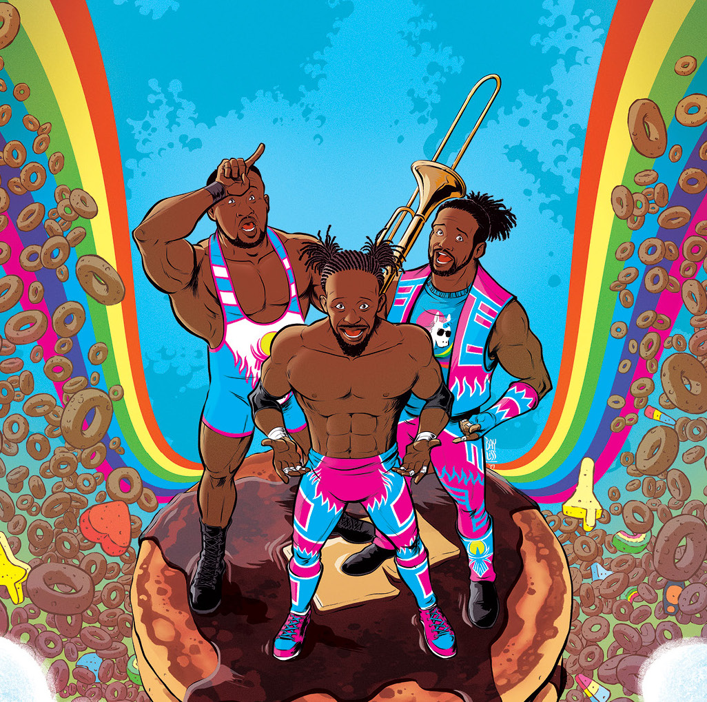 EXCLUSIVE BOOM! Preview: WWE The New Day: Power of Positivity