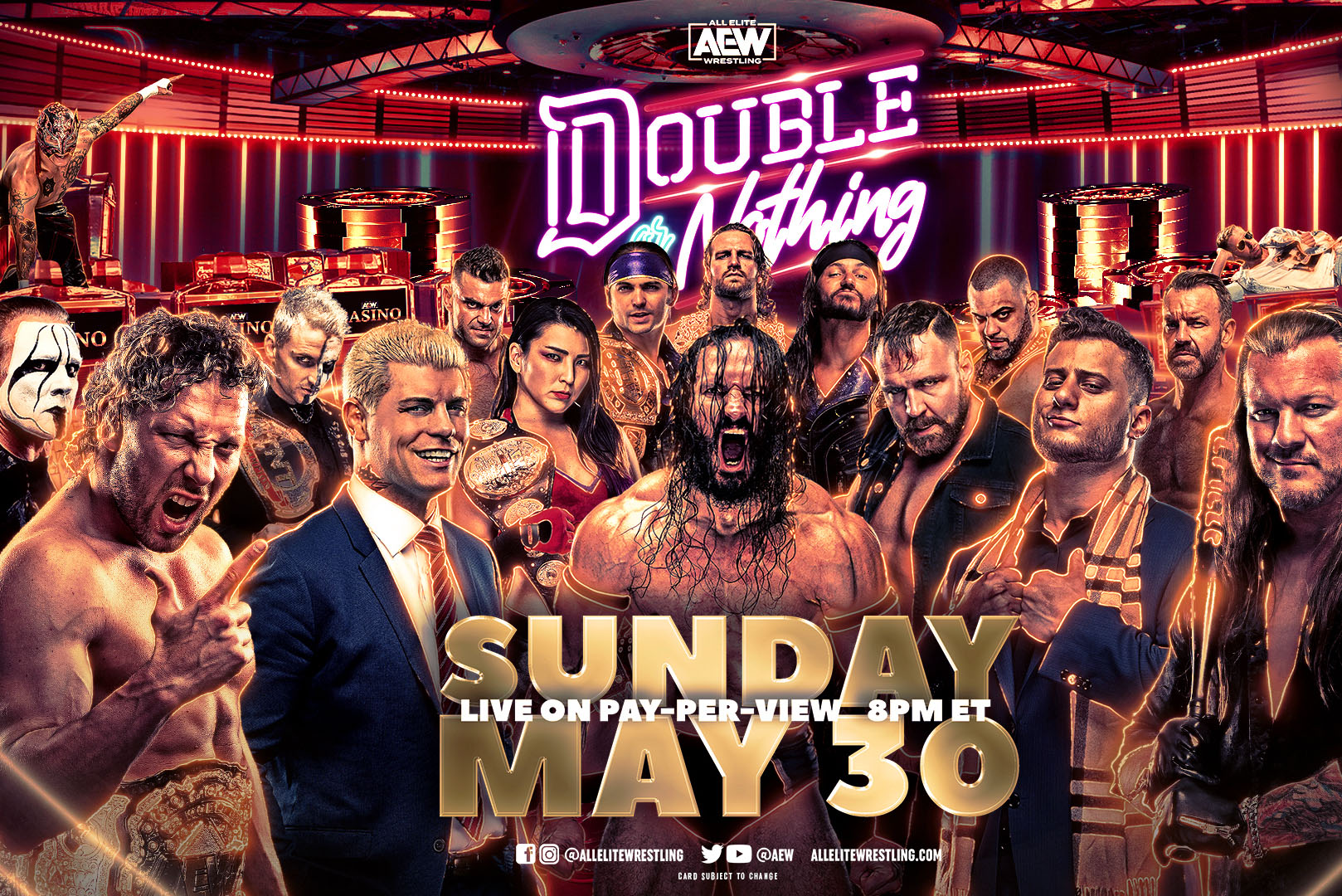 PTW Wrestling Podcast episode 157: Double or Nothing 2021 Preview