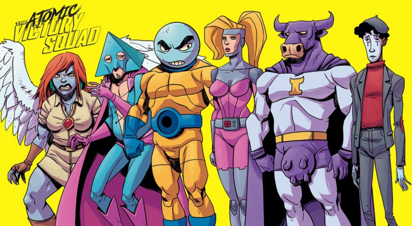 Lowell Dean talks action, misfits in 'Atomic Victory Squad'