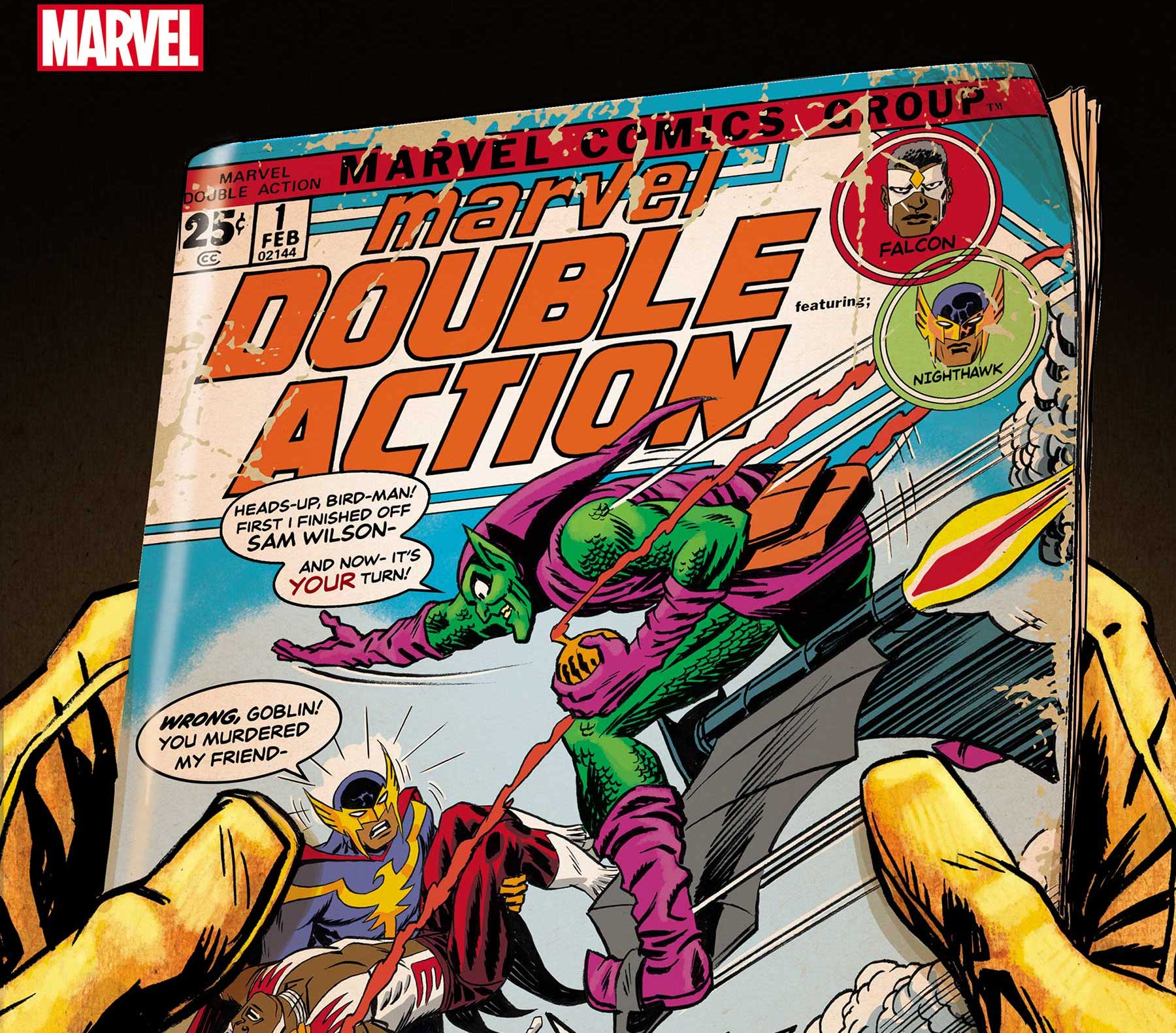 EXCLUSIVE Marvel Preview: Heroes Reborn: Marvel Double Action #1