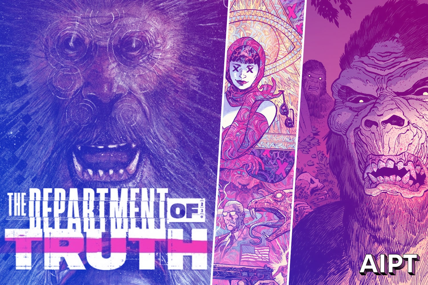 Image Comics signals 'The Department of Truth' is on the hunt for Bigfoot