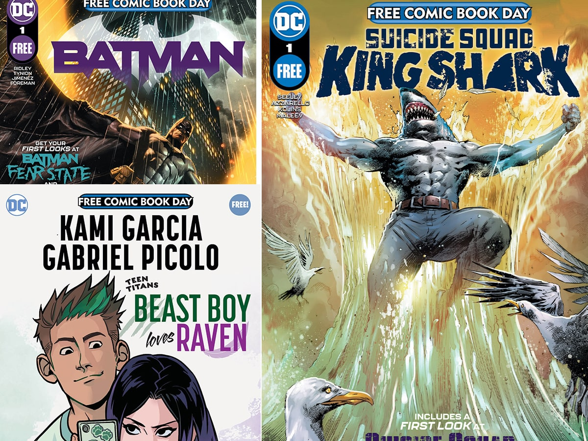 DC Comics reveals Free Comic Book Day 2021 offerings