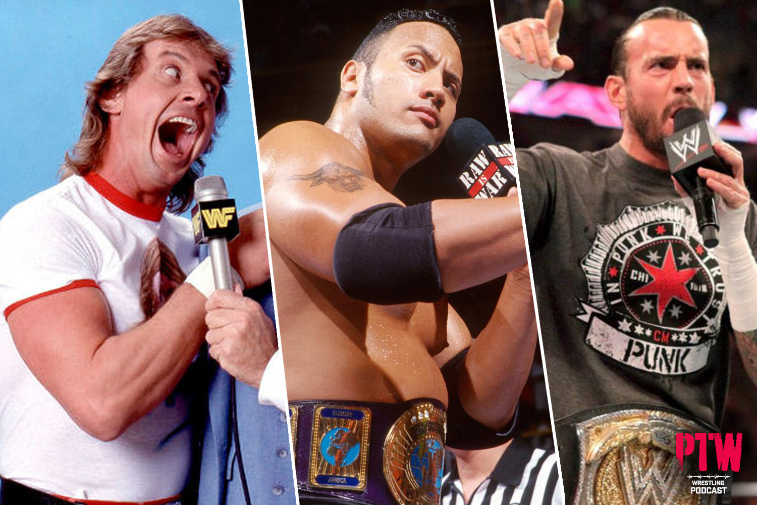 PTW Wrestling Podcast episode 155: Top 10 Talkers in WWE History