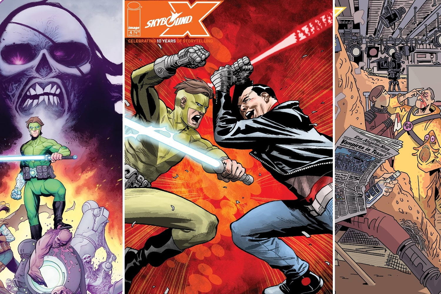 Image Comics reveals more 'Skybound X' covers ahead of its July 7th launch