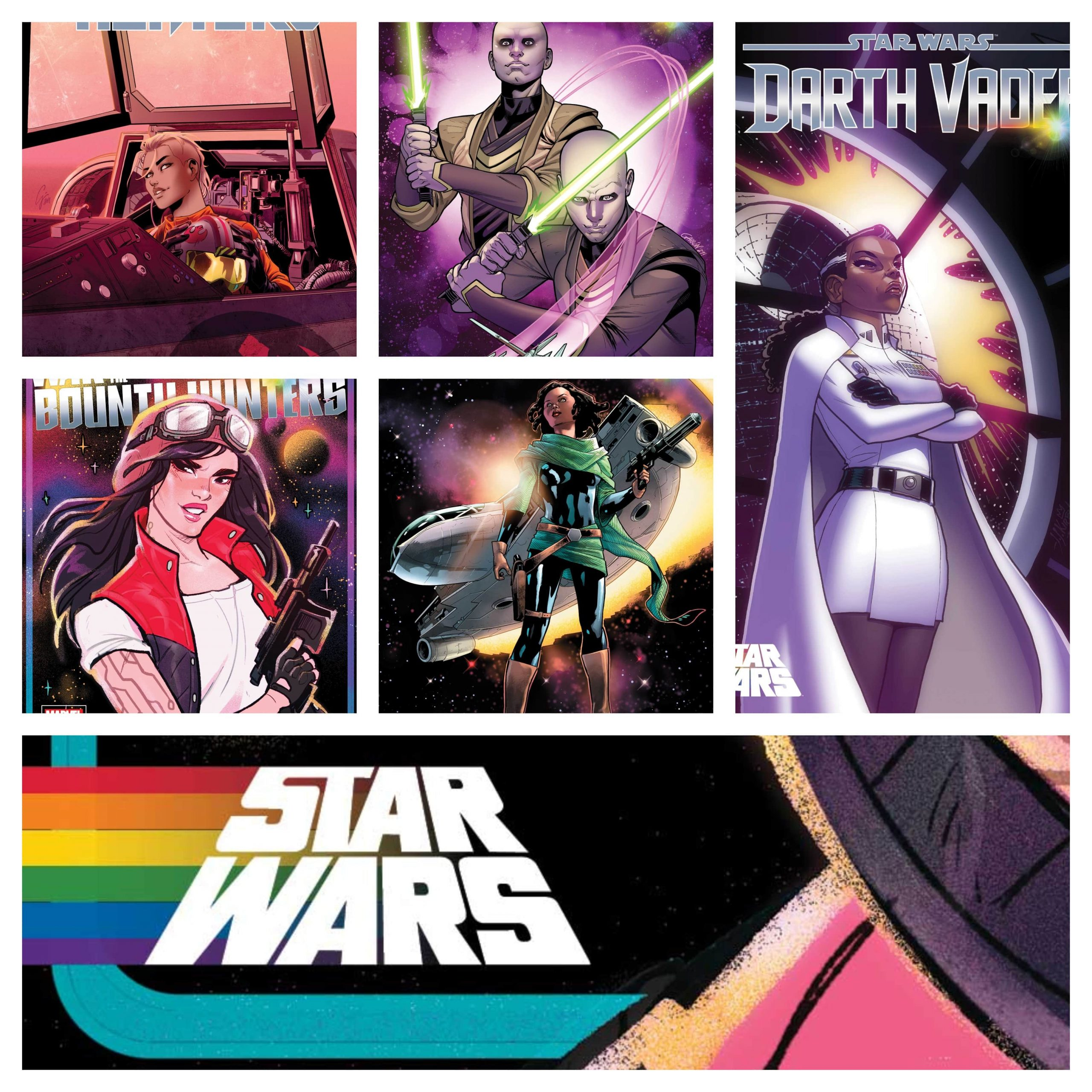 Marvel reveals every Star Wars Pride Month variant cover