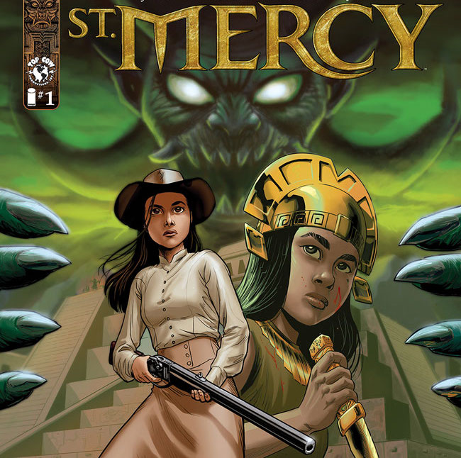 Image Comics announces new series 'St. Mercy' for August 25th
