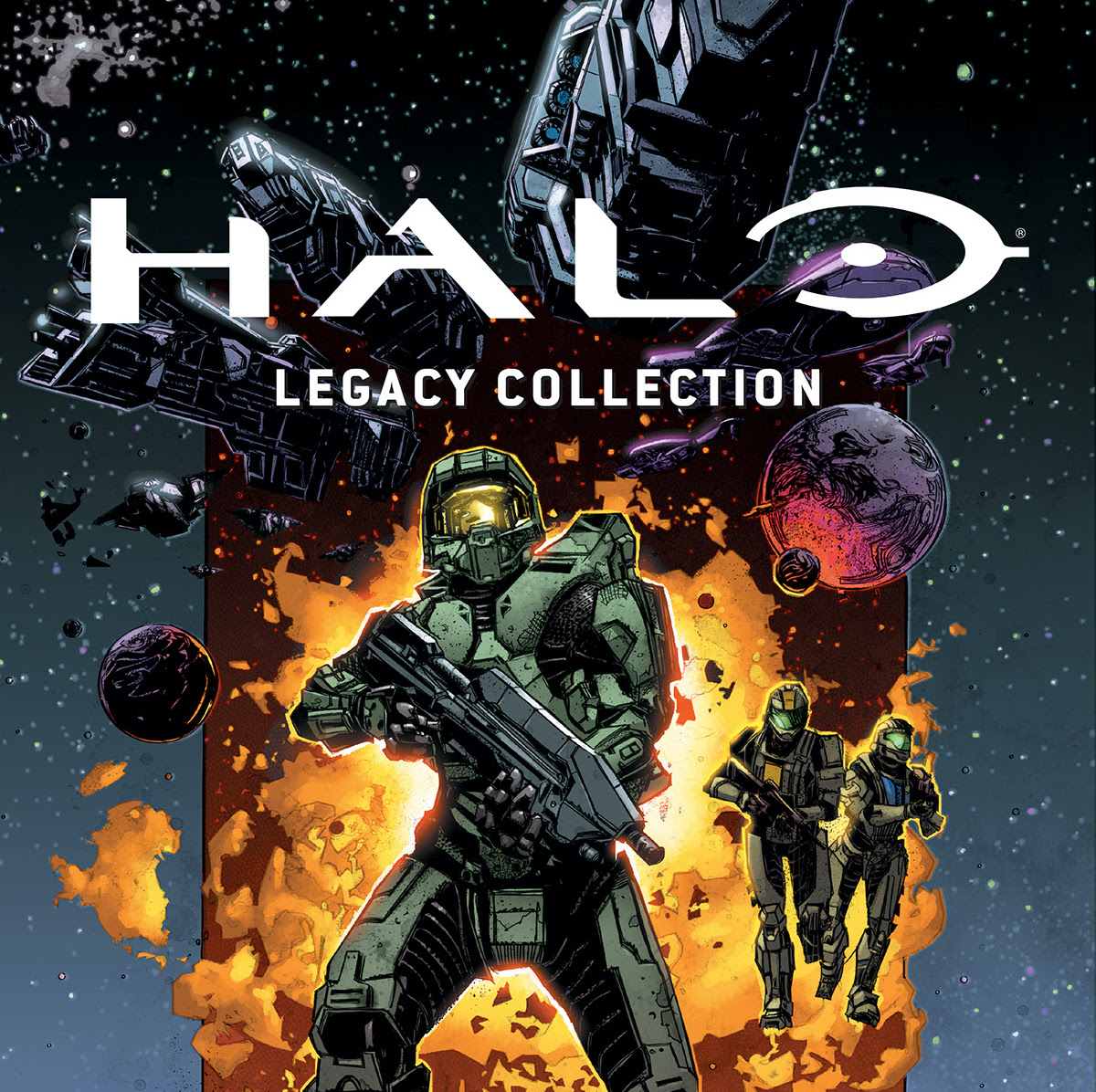 Dark Horse announces 'Halo: Legacy Collection' for August 2021