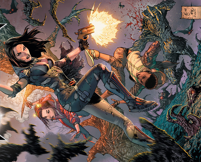 Scott Snyder and Tony S. Daniel's 'Nocterra' sells out...again!