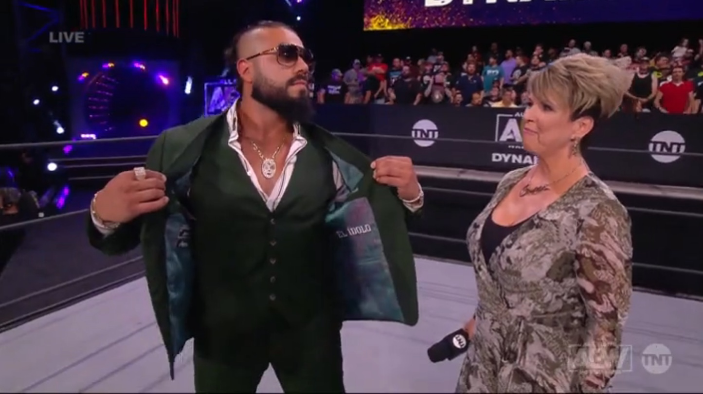 AEW Dynamite is in a holding pattern, but at least there's Andrade