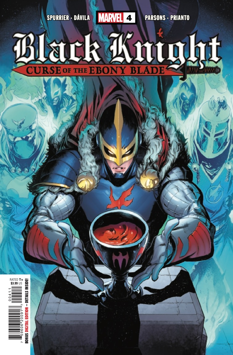 Marvel Preview: Black Knight: Curse of the Ebony Blade #4