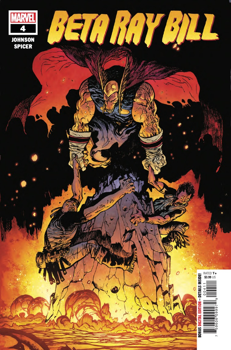 Marvel Preview: Beta Ray Bill #4