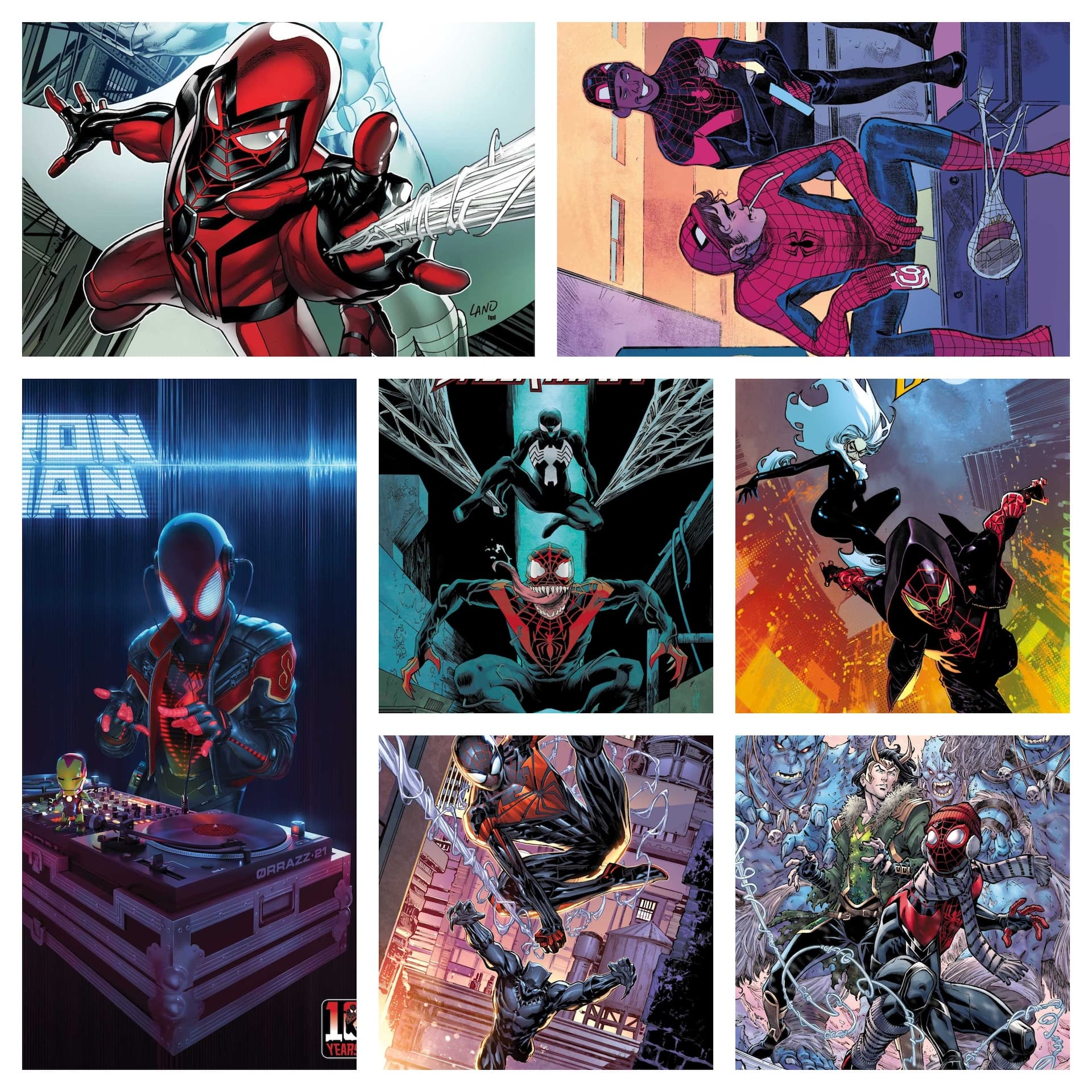 Marvel celebrates Miles Morales 10 year anniversary with variant cover series