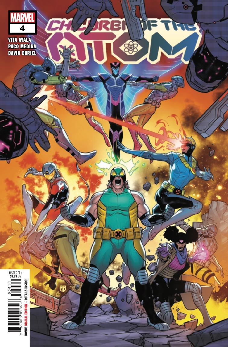 Marvel Preview: Children Of The Atom #4
