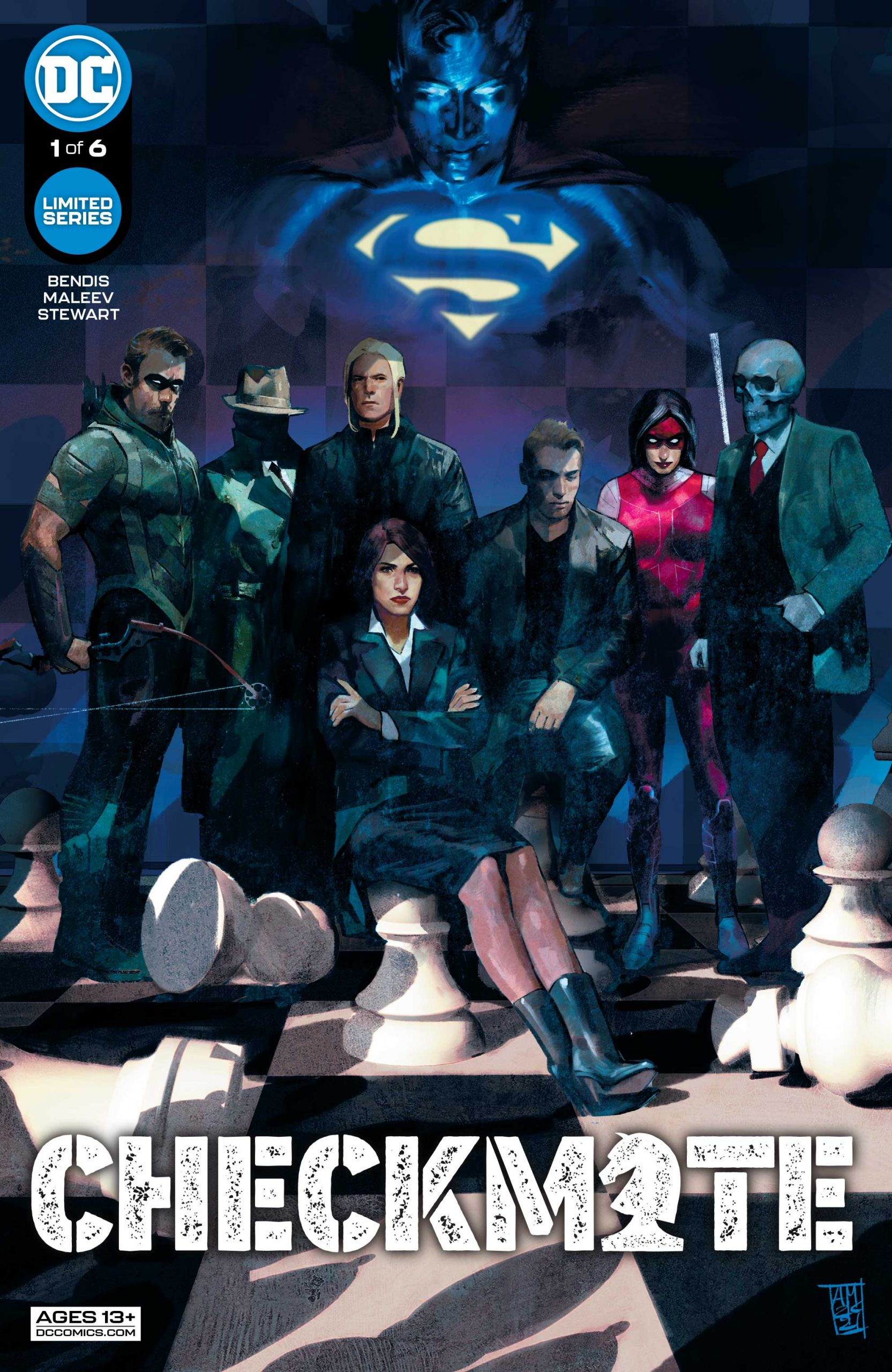 DC Preview: Checkmate #1