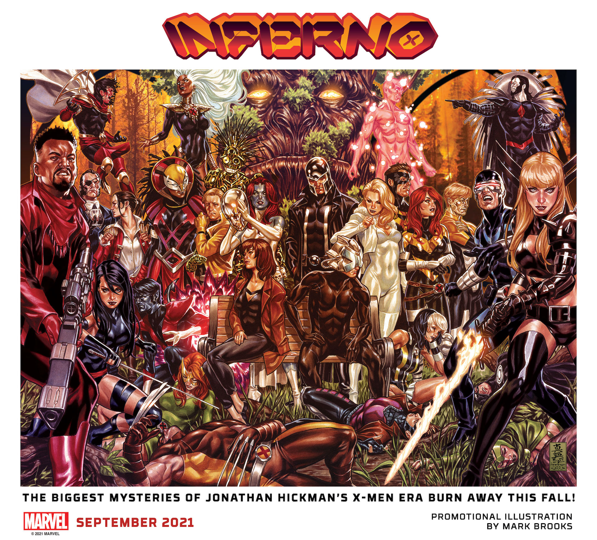 Jonathan Hickman exits X-Men with 'Inferno' this fall