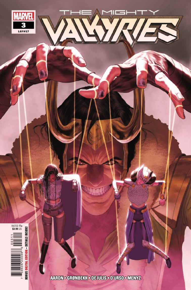 Marvel Preview: The Mighty Valkyries #3