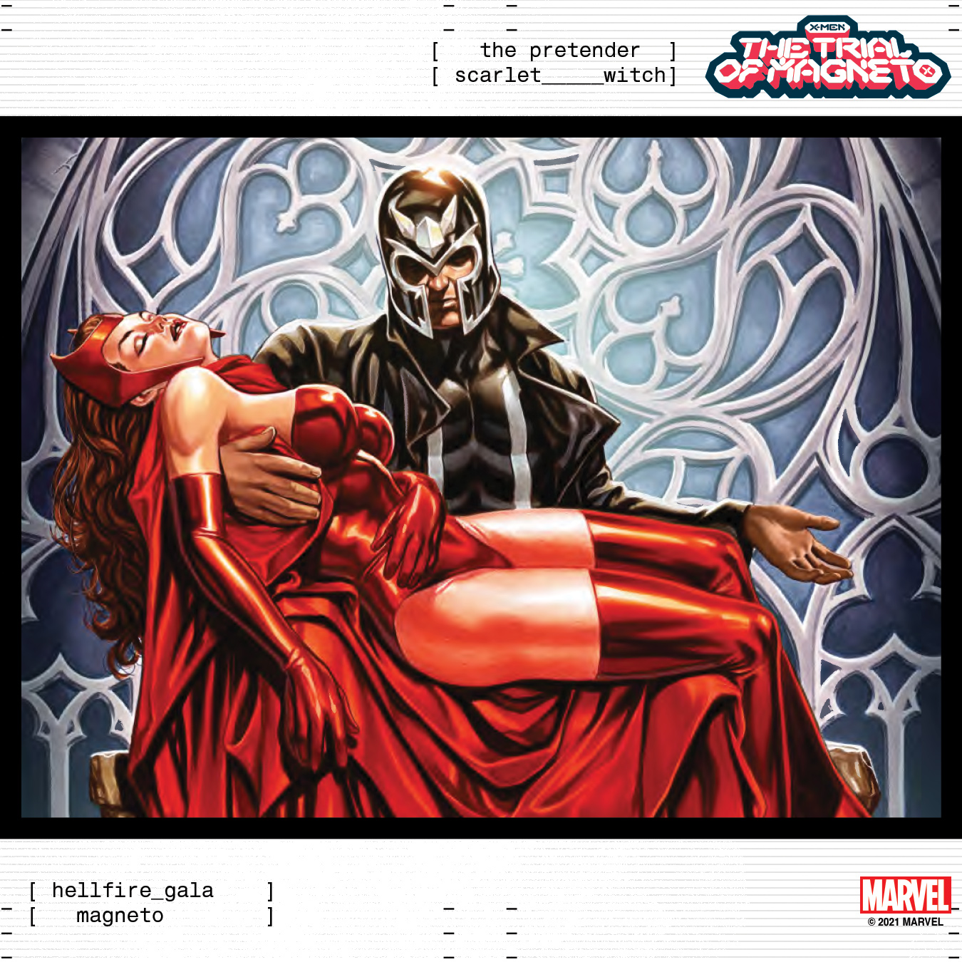 Marvel reveals gorgeous 'The Trial of Magneto' cover by Mark Brooks