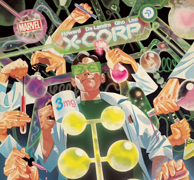 EXCLUSIVE Marvel First Look: X-Corp #3 variant cover