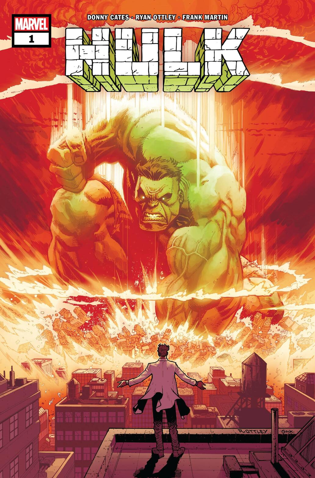 Donny Cates and Ryan Ottley join forces for Hulk this November