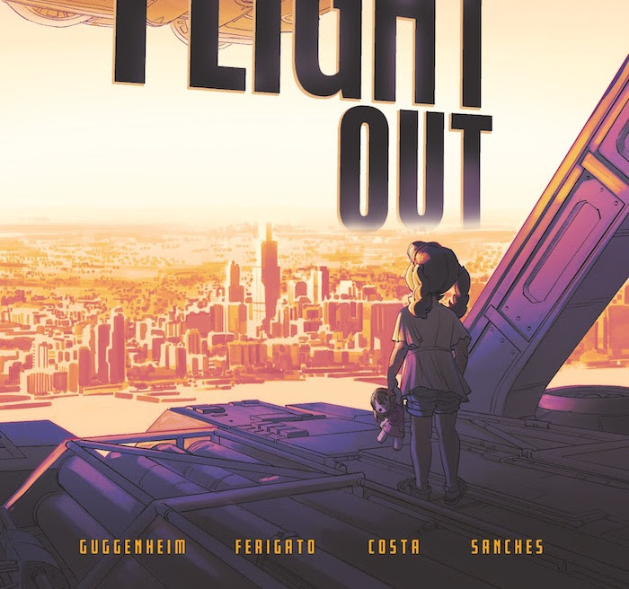 'Last Flight Out' #1 is a tense disaster story