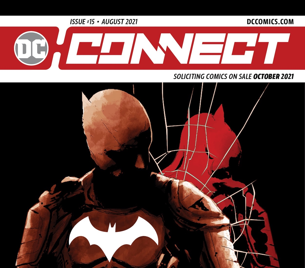 DC releases 'DC Connect' for October 2021 titles