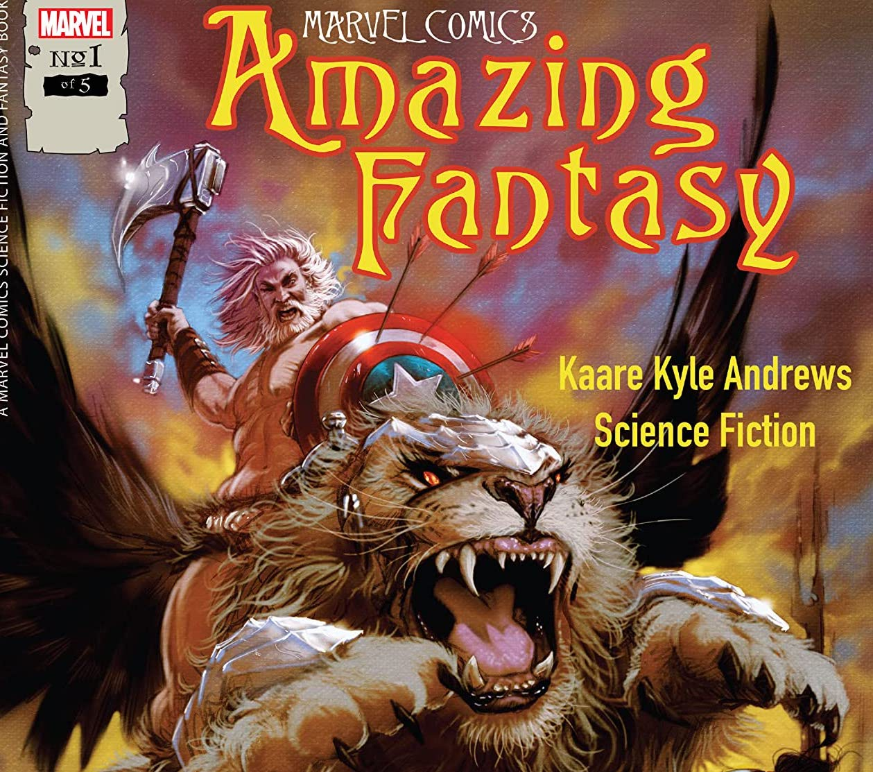 'Amazing Fantasy' #1 blends superheroes and fantasy well