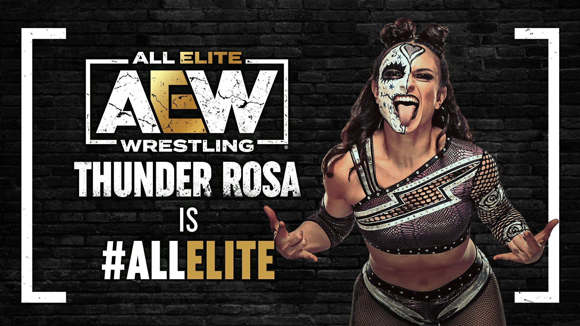 Thunder Rosa signs with All Elite Wrestling