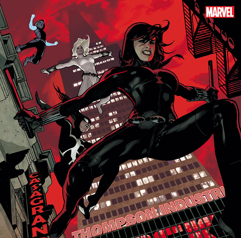 Marvel Comics teases new villain and team ups in 'Black Widow' #12