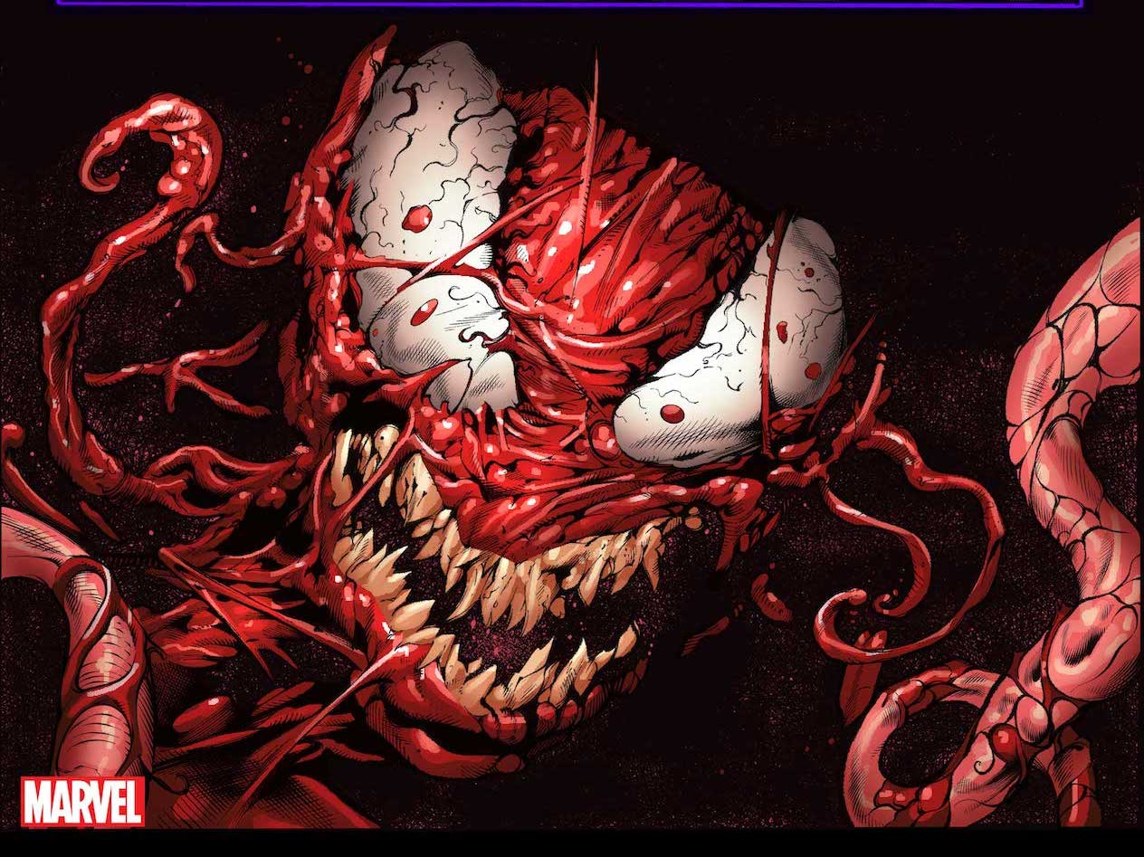 'Extreme Carnage Alpha' #1 blends gore, politics, and superheroes