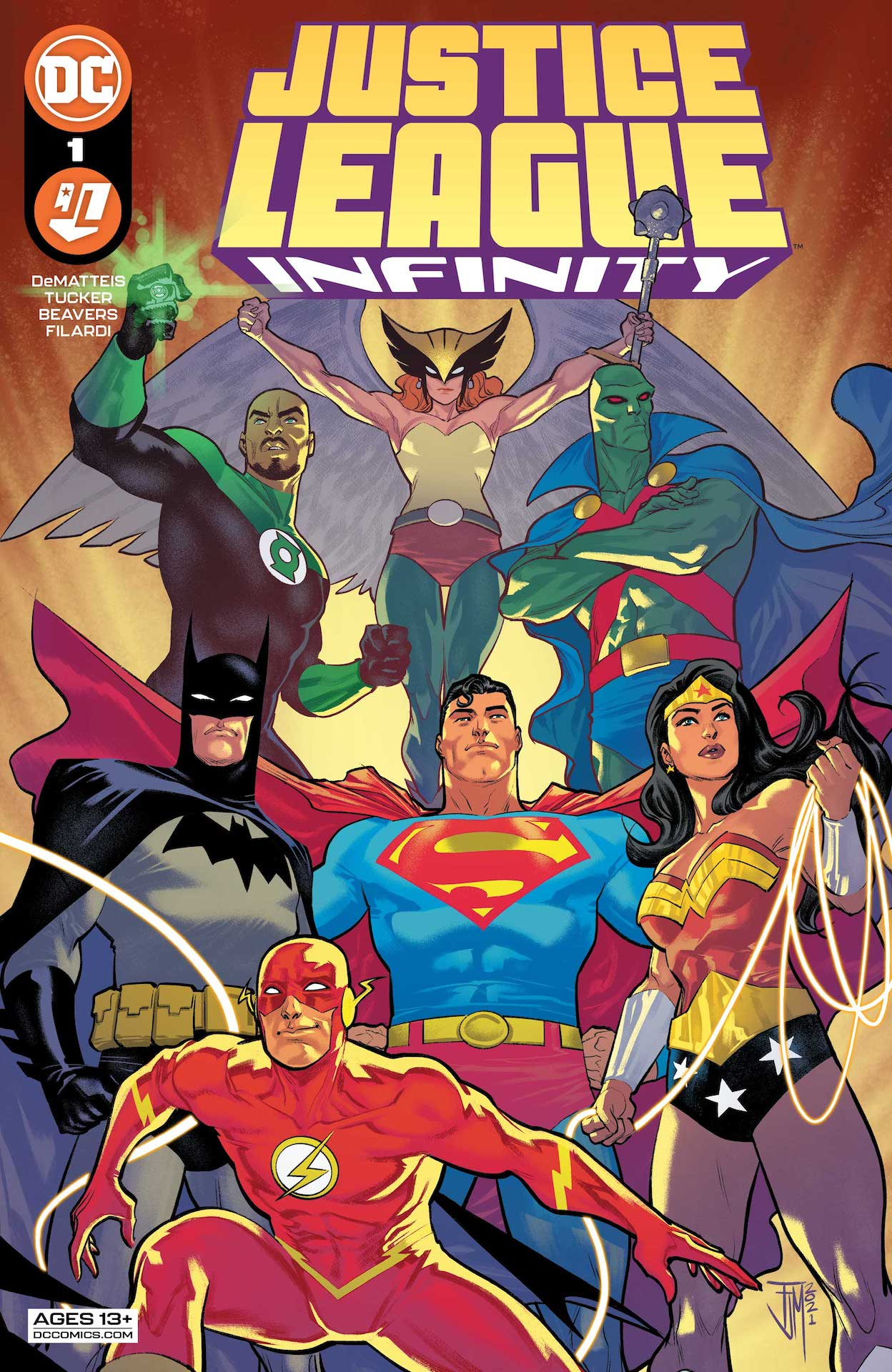 DC Preview: Justice League Infinity #1