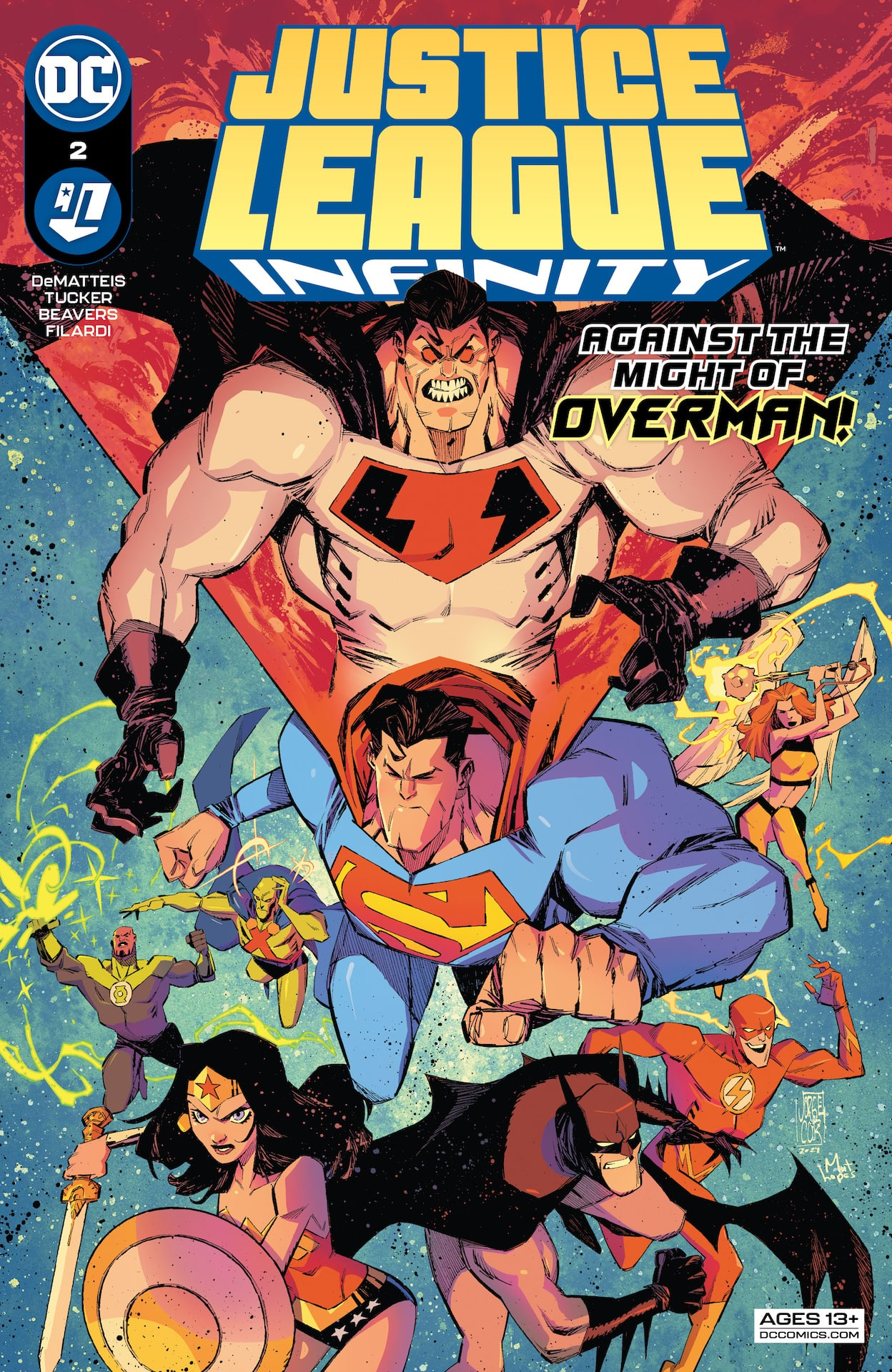 DC Preview: Justice League Infinity #2