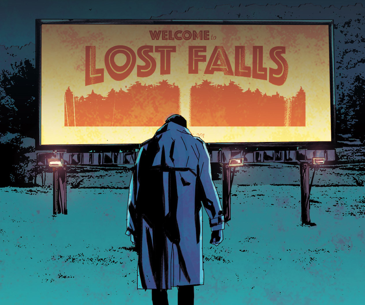 'Lost Falls' #1 is a seductive, paranoid sci-fi mystery