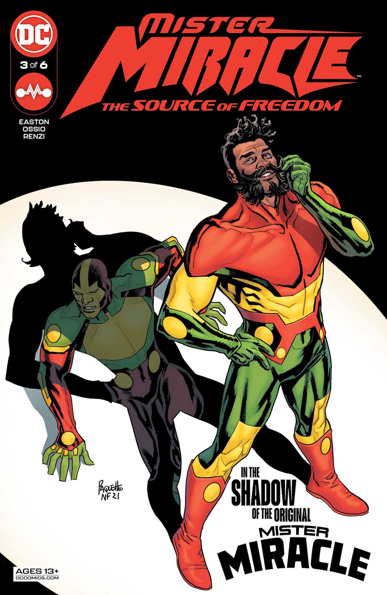 DC Preview: Mister Miracle #3: The Source of Freedom