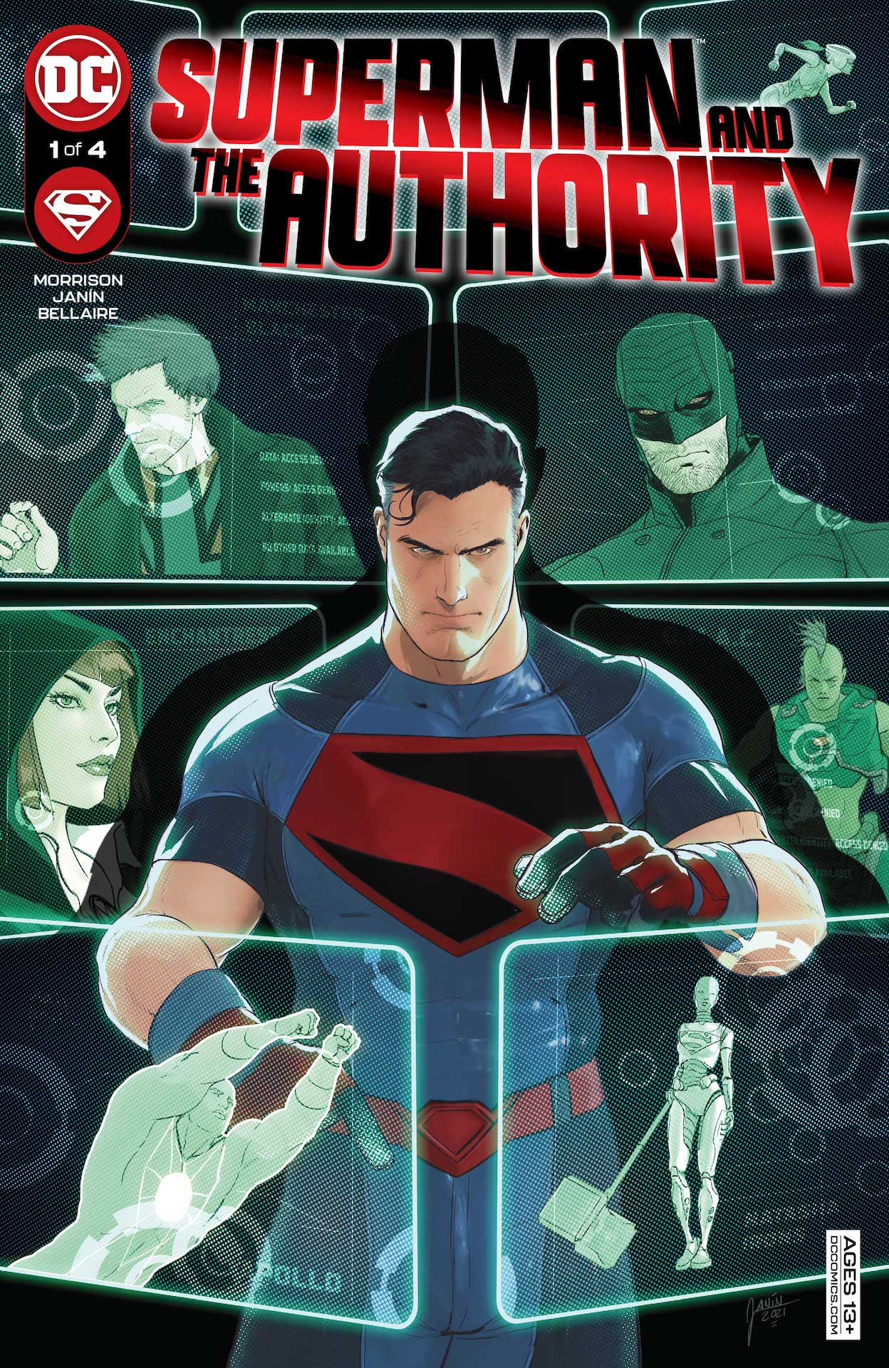 DC Preview: Superman and the Authority #1