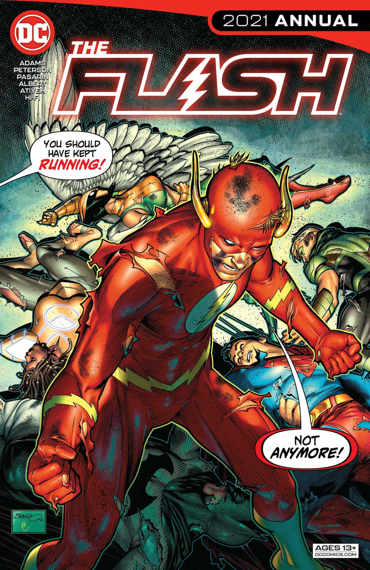 DC Preview: The Flash 2021 Annual #1